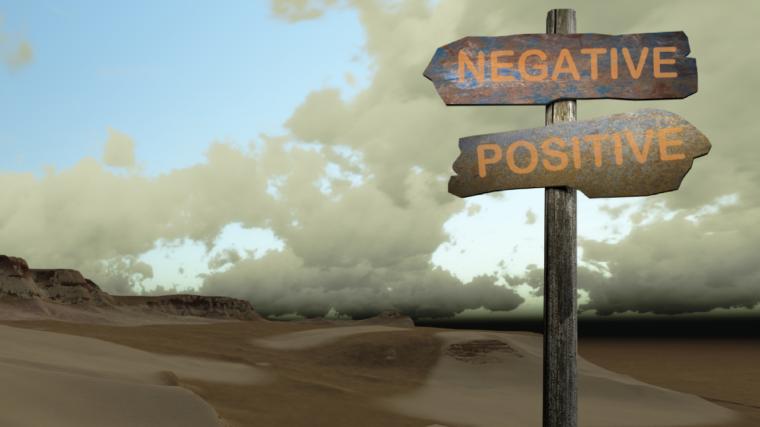 Opposite of Negativity, Negativity